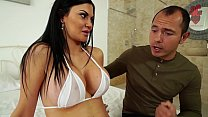 Santy, mexican fucks hot Jasmine Jae in the ass Image
