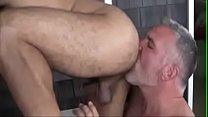 papi disfrutando su chico