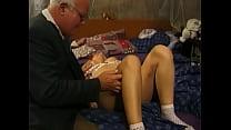 Image: Grandpa and teen -