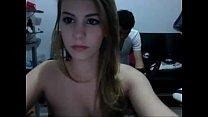 cogiendo en la webcam