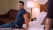 (Dante Colle, JJ Knight) Enjoy Each Other Big Cock At The Hotel - Men.com