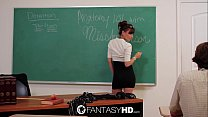 FantasyHD Hot for teacher with sexy Capri Anderson
