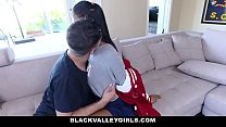 BlackValleyGirls - Perky Tit Ebony Fucked By Jocked thumbnail