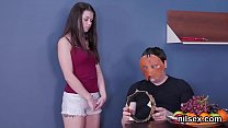 Sexy teenie was taken in butthole nuthouse for awkward treatment
