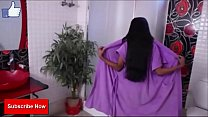 Indian Girl Show Her Bathroom at the time of Her Bath Hot Bath Scene