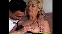 Crazy old mom gets fucked hard preview image