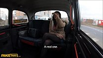 Fake Taxi Curious Lesbian Tiny Tina tries cock for first time