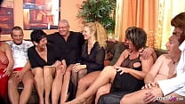Real German Mature Swinger Party with 4 Couple ...