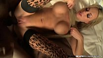 Busty babe in stockings Paige Ashley fucked by ...