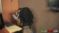 Image: LEAVE MY OFFICE - Applicant Fucked Employer in the Office To Secure A Job - NOLLYPORN