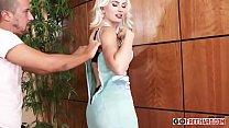 Stunning busty blonde Gigi Allens fucked by her boyfriends sn