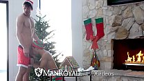 ManRoyale Morning christmas fuck with Ty Mitchell and Connor Halsted