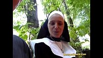 crazy german nun loves cock