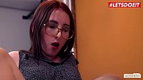 LETSDOEIT - German Teen Secretary Lia Louise Fucks With Her Dirty Boss image