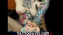 TattooWife.com - Tattooed Piercing Fetish Cam Wife thumbnail