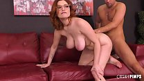 Voluptuous Redhead Teen With Big Tits Gets Poun...