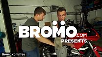 Dom Ully with Rosta Benecky at Biker Butt Sex Scene 1 - Trailer preview - Bromo