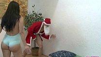 Kiana Gets Fucked By Pervy Santa