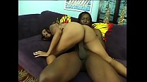 Black stud loving it as he gets his huge dick deep inside horny milf as he fucks