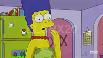 Marge simpson fucking with flanders while no one is home