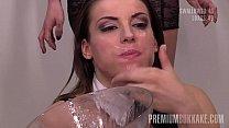 PremiumBukkake - Victoria Daniels swallows 61 huge mouthful cumshots Vorschaubild