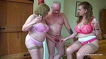 Older British threeway sex