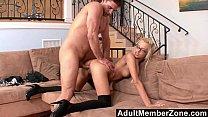 Sliding His Spanish Dick in Emma Mae's Tight Teen Slit