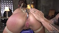 Angry customer fucks sexy dealer in bdsm