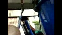 Dick flashing to exciting woman in the bus preview image