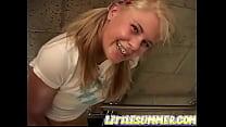 Little summer loves fingering pussies in public