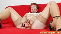 x video big - Cougar solo with a sex toy thumbnail