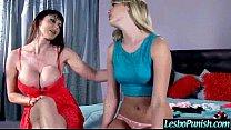 Nasty Lesbians (eva&kenna) In Punish Hard Game On Tape vid-22
