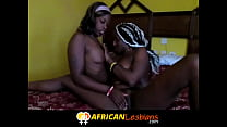 Black Lesbian Girlfriend Gets Ass and Pussy Fingered