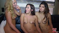 GIRLS GONE WILD - Incredible Lesbian Threesome With Ava Taylor & Friends
