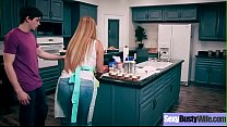 (Kianna Dior) Housewife With Big Juggs Love Intercorse On Camera Clip-16