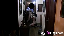 Horny delivery guy cannot wait to stick his dick inside me صورة