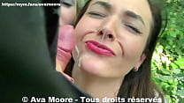 Ava Moore - Old Pervert cum on our slutty face - REALITY PORN