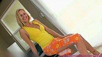 Blonde Milf Peyton Leigh Has A Warm Mouth For Cock porn thumbnail