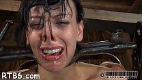 Sweetheart is suffering pain pleasures