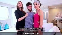 NEUTRE 3 Way Po rn Threesome for Newbie Actor  r Newbie Actor with Hot Blonde &