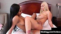 Sexy Snatch Sisters Nina Kayy & Lala Ivey Sciss...