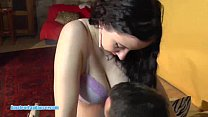 Busty czech girl does amazing striptease for horny guy pornhub video