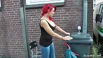 German Redhead Teen Lexy Seduce to Fuck Outdoor...