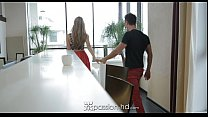 HD Passion-HD - Anjelica enjoys some big dick hotel lobby lust Preview