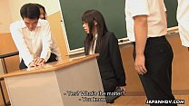 Asian teacher getting fucked by the randy students pornhub video