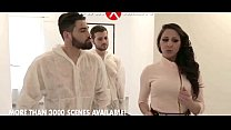 Martina Gold banged by two plumbers