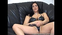 Masturbate your tiny cock with jerk off teacher for easy orgasm porn thumbnail