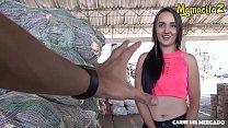 MAMACITAZ - Cute Latina Teen Valeria Matasanos Shows Off Her Sex Skills And She Nails It