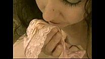 keri taste her own pantys discharge in pink panty