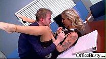 Slut Horny Girl (Kleio Valentien) With Big Melon Tits Enjoy Sex In Office video-19 Preview
